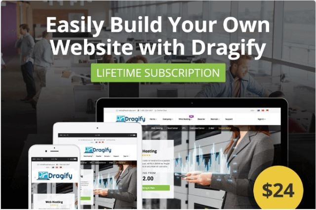 Dragify Website Builder Coupon