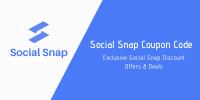 Social Snap Coupon Codes