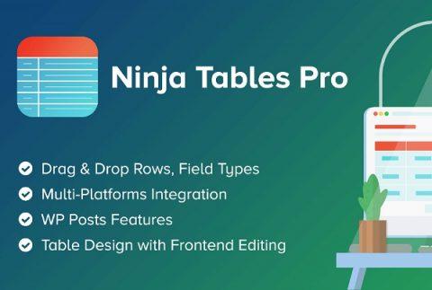 Ninja Tables Pro Coupon Codes