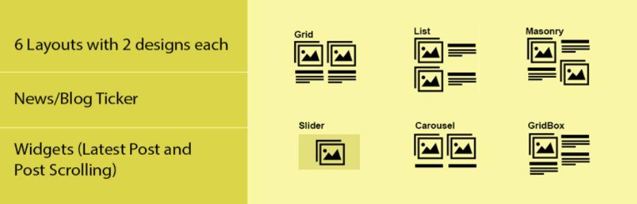 News & Blog Designer Pack – WordPress Blog Plugin